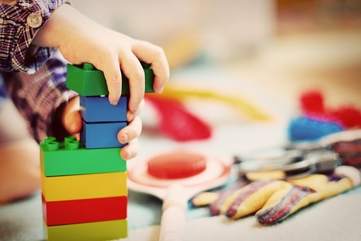 polecane klocki dla małych dzieci